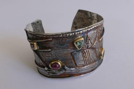 Armreif Silber von Enzo Arduini