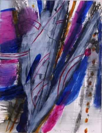 Bild Hommage-á-Kandinsky Mischtechnik von Enzo Arduini