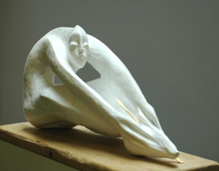 Skulptur Die Wunde aus Marmor von Enzo Arduini